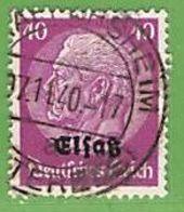 MiNr.12 O Deutschland Besetzte Gebiete II.WK Elsass - Occupazione 1938 – 45