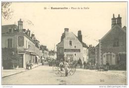 41 - ROMORANTIN / PLACE DE LA HALLE - Romorantin