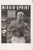 CP REPRODUCTION  : MIROIR - SPRINT  :  Le Formidable Record De ZATOPEK - Athlétisme