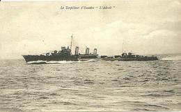 """Le Torpilleur D' Escadre  """" L' Adroit """" - Guerra"""