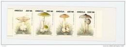 Angola 1993-Champignons,YT 911/14***MNH-Carnet - Angola