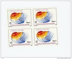 Cap Vert-Cabo Verde-1987-Plan De Développement-517-4 Timbres***MNH - Cap Vert