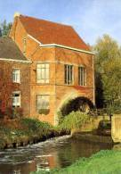 TOLLEMBEEK (Brabant) - Molen/moulin - De Heetveldemolen In Bedrijf Met Draaiend Middenslagrad (1993). - Galmaarden