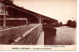 USINES DE LAFARGE - Les Quais Dechargement ( Environs Du Teil ) Bon état, Voir Scan - Le Teil