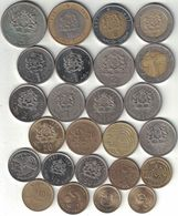 Morocco Collection Of 26 Coins 1965-2016 All Listed & Different - Morocco