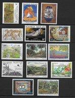 Lotpm 102 Polynésie Neufs ***  Lot De 14 Timbres Dont Yvert N° 564 , PA 113 Etc  Voir Description Port Simple Offert - Collections, Lots & Séries