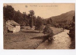 106 - TROIS - PONTS  - La Salm En Amont Du Pont Dde Ghlain - Trois-Ponts