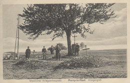 """1914/15   Westlicher Kriegsschauplatz- Environs De  Piennes   -  Mercy Le Haut  -  """" Kriegergrab """" - Briey"""