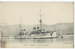 CPA Bateau Navire De Guerre Cuirassé Croiseur Le Desaix - Guerre