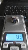 Très Belle Bague En Argent Massif Taille 53 Poids 13.3 Grammes - Rings