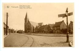 Poelkapelle - Groote Markt En Kerk - Grand'Place Et Eglise - Market Place And Church / Nuyttens - Langemark-Poelkapelle