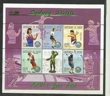 Guinée  Jeux Olympiques Sydney 2000 YT **1864 L/Q  Disque Javelot Marteau - Zomer 2000: Sydney