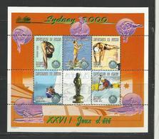 Guinée  Jeux Olympiques Sydney 2000 YT **1864 F/K  Voile Canoé Kayak Natation Plongeon - Zomer 2000: Sydney