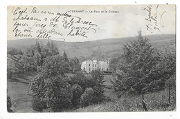 TERNANT  (cpa 63)   Le Parc Et Le Château     -  L 1 - Frankreich