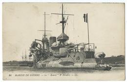 CPA Bateau Navire De Guerre Cuirassé  Bouvet - Guerre