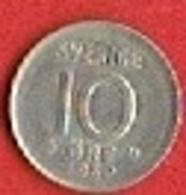 SWEDEN #  10 ØRE FROM 1969 - Suède