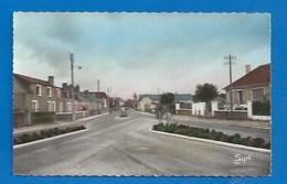 53 - NOYEN-SUR- SARTHE - EN VENANT DE SABLÉ - CPSM DENTELÉE - Francia