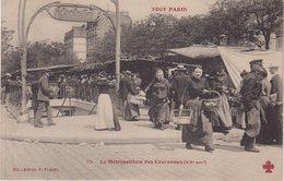 PARIS XX : Le Métropolitain Des Couronnes . - Metro, Estaciones