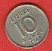 SWEDEN #  10 ØRE FROM 1953 - Suède