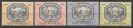 San Marino  (1972)  Mi.Nr.  999 - 1002  ** / Mnh  (2af02) - San Marino