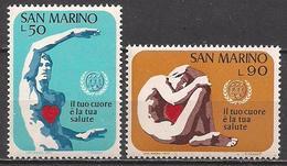 San Marino  (1972)  Mi.Nr.  1013 + 1014  ** / Mnh  (2af03) - San Marino