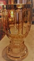 VERRE CRISTAL DE BOHEME REHAUTS OR - Glas & Kristall