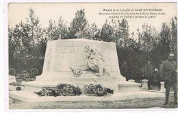 CPA (37) Avon.Camp Du Ruchard.Monument Des Soldats Belges.           (C.318) - Altri Comuni