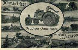 "AGRICULTURE    / TRACTEUR KRAMER DIESEL   ""  CPA 10 X 15 - Tracteurs"