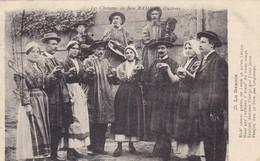 """36. ARDENTES ( ENVOYE DE). CPA . LES CHANSONS DE JEAN RAMEAU ILLUSTRÉES. """" LA BRANLE """"  ANNEE 1915 - Sonstige Gemeinden"""