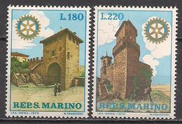 San Marino  (1970)  Mi.Nr.  957 + 958  ** / Mnh  (2af07) - San Marino