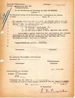 Antwerpen  Anforderungs Und Quartieramt  1942  Opeisingsbevel  Ondertekend Lode Delwaide. - 1939-45
