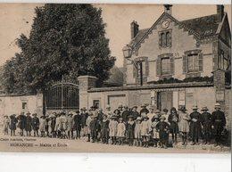 MORANCEZ ( 28 ) - Mairie Et école - France