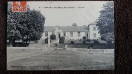 CPA PEYRAT LE CHATEAU HTE VIENNE L ECOLE ED MALIVERT 1910 - France