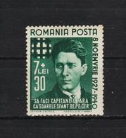 1940 - Effigie Des Legionnaires Codreanu Mi No 680  MNH - 1918-1948 Ferdinand, Carol II. & Mihai I.