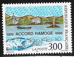 TIMBRE N° 3003    -   ACCORD RAMOGE AVEC ITALIE ET MONACO     -  NEUF  -  1996 - Nuovi
