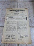 Algemeen Informatieblad Gemeentebelangen Uw Partij Borgerhout Juni 1971 - Faire-part