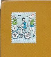 Cycling. Sport. Bike. Bicycle. Venezuelan Vignette Dedicated To Tuberculosis. Christmas 1966. Radfahren. Fahrrad. Vélo. - Sports