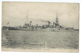 CPA Bateau Navire De Guerre Cuirassé  Patrie - Guerre