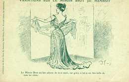 Publicité - Femmes - Variations Sur Le Miroir Brot - Joséphine - Henriot