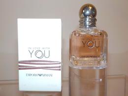 """Emporio ARMANI  """" In Love With You """" Eau De Parfum 7ml - Miniatures Modernes (à Partir De 1961)"""
