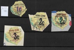 Sierra Leone, 1964 Decimal Currency Optd 4th Issue, Used To 3c (7407) - Sierra Leone (1961-...)