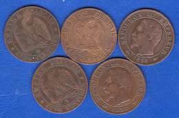 5  Cents  5  Pieces - France