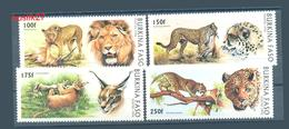 Burkina Faso Lions Jaguars Léopards 1998 MNH - Burkina Faso (1984-...)