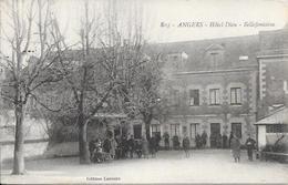 Cpa 49 Angers , Hôtel Dieu - Belle Fontaine , Hôpital Temporaire * Cachet Centre Spécial Réserve  , Ww1 , écrite 1917 - Angers