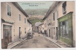 LES BOUCHOUX - Grande Rue - Bauer Marchet  / Environs La Pesse Coiserette Viry Choux Vulvoz Larrivoire Belleydoux  Jura - Frankrijk