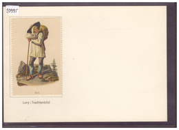 GRÖSSE 10x15cm - LORY TRACHTENBILD - URNER TRACHT - TB - UR Uri