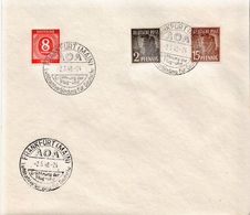 Germany Allied Occupation Cover With Frankfurt AOA Cancel 1946 - American,British And Russian Zone