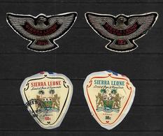 Sierra Leone, 1967 Decimal Selection To 15c Used (7412) - Sierra Leone (1961-...)