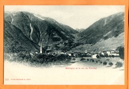 Man745, Martigny Et Le Col De La Forclaz, 315, Précurseur, Non Circulée - VS Valais