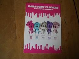 Carte Harajuku Lovers Glacée* - Perfume Cards
